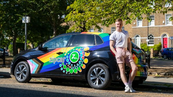 Zipcar pride in your ride winner