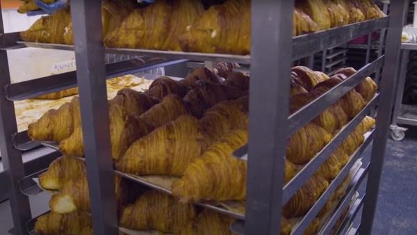 rack of croissant