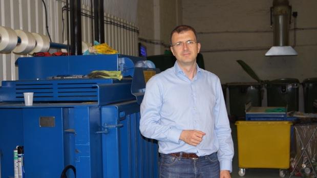 Quantum Waste founder Javier Rojo, Credit Quantum Waste