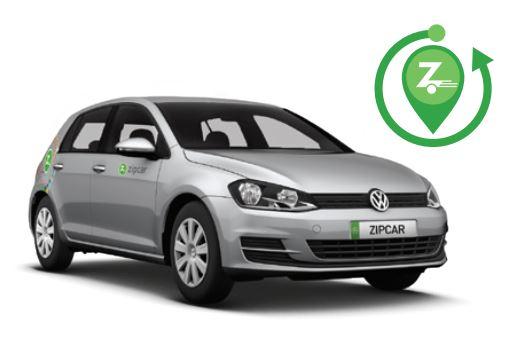 Roundtrip Zipcar