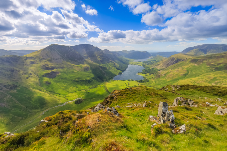 View over the Lake District
