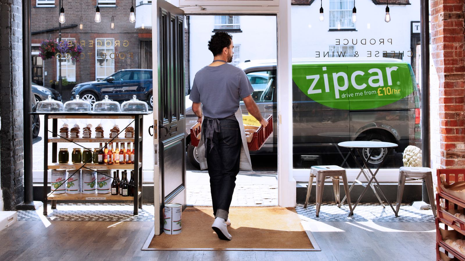 Zipcar for business deliveries