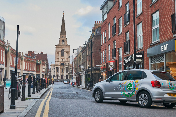Zipcar car sharing in London