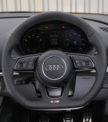 audi a3 sterring wheel and dash
