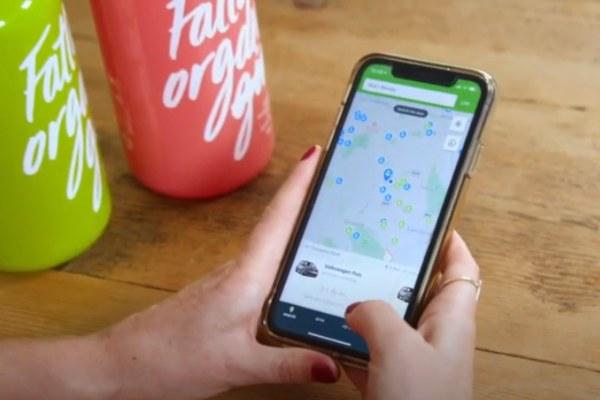 zipcar app and fatty's gin