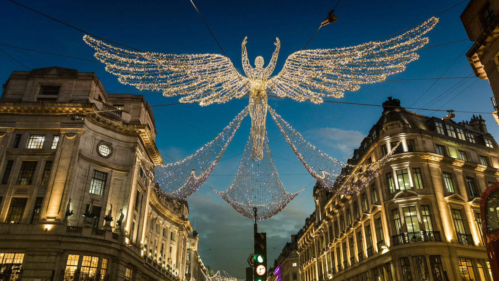 Christmas lights regents street