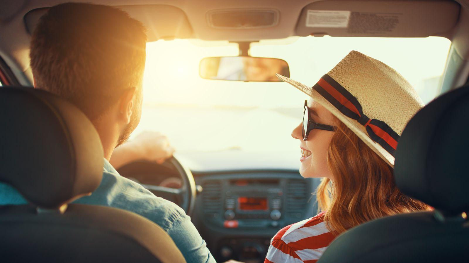 road trip couple