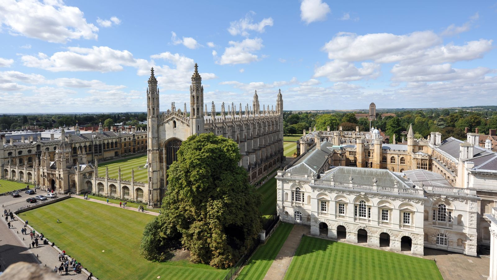 View of cambridge university