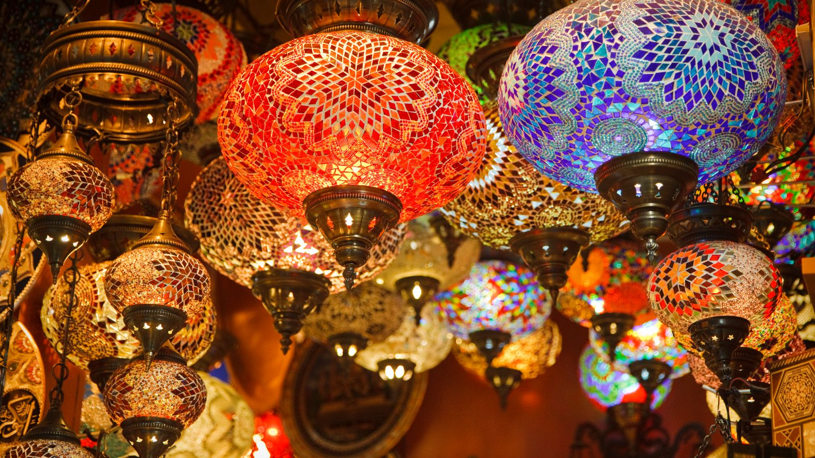 Nomads turkish lamps