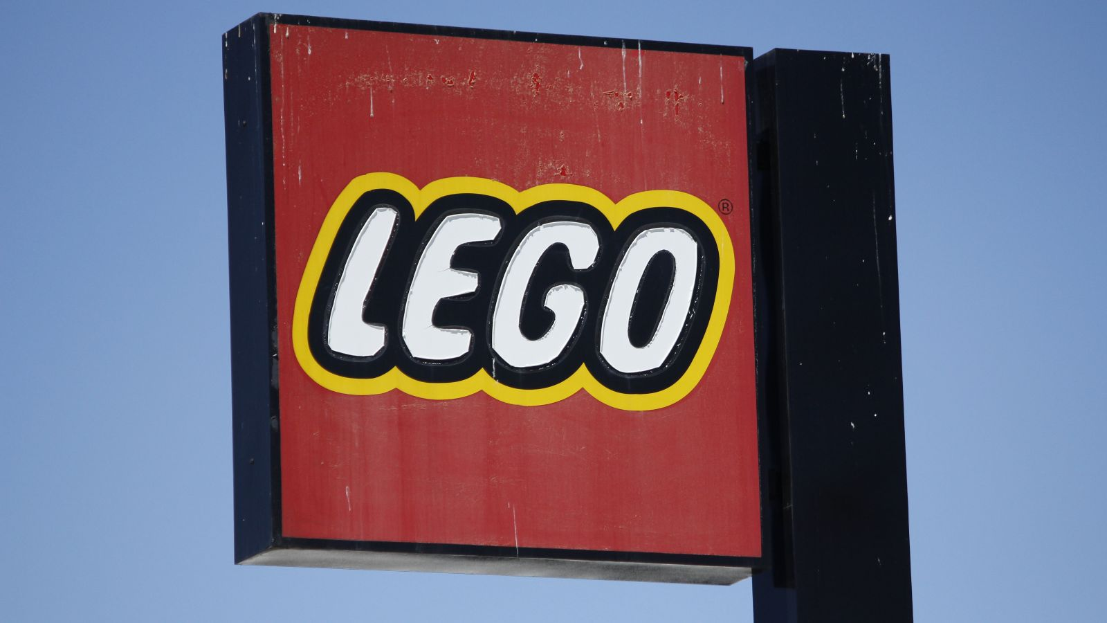 lego sign at legoland