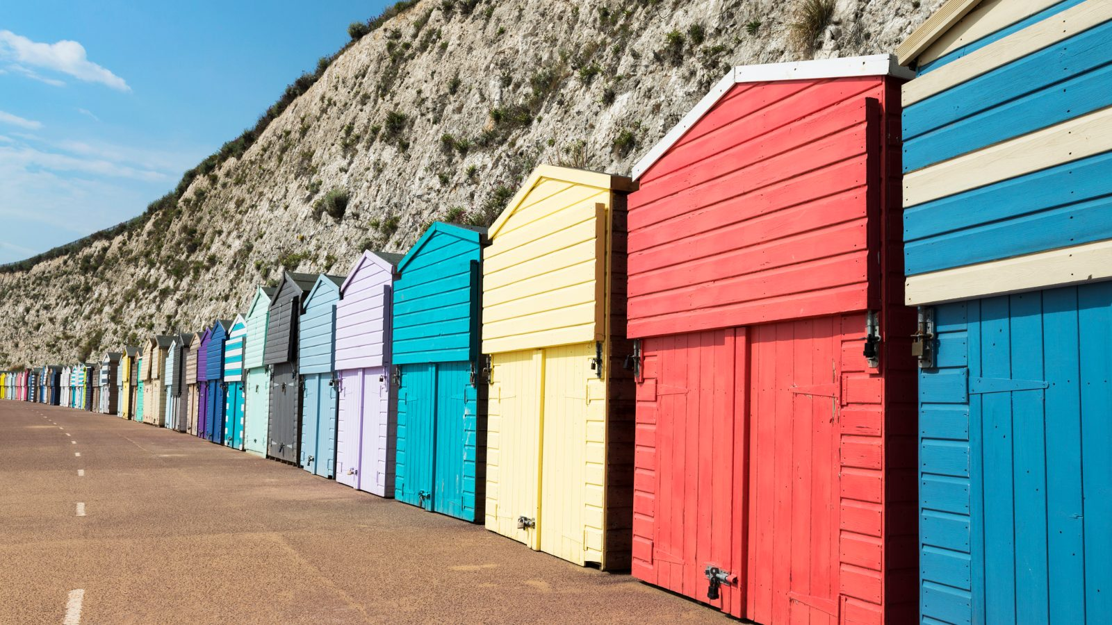 stone bay beach huts