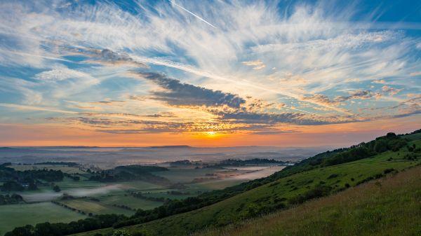 Sunrise at Harting Down