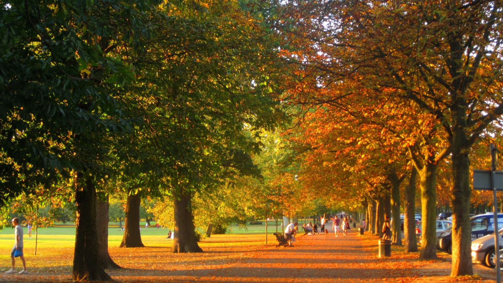 Greenwich in early Autumn