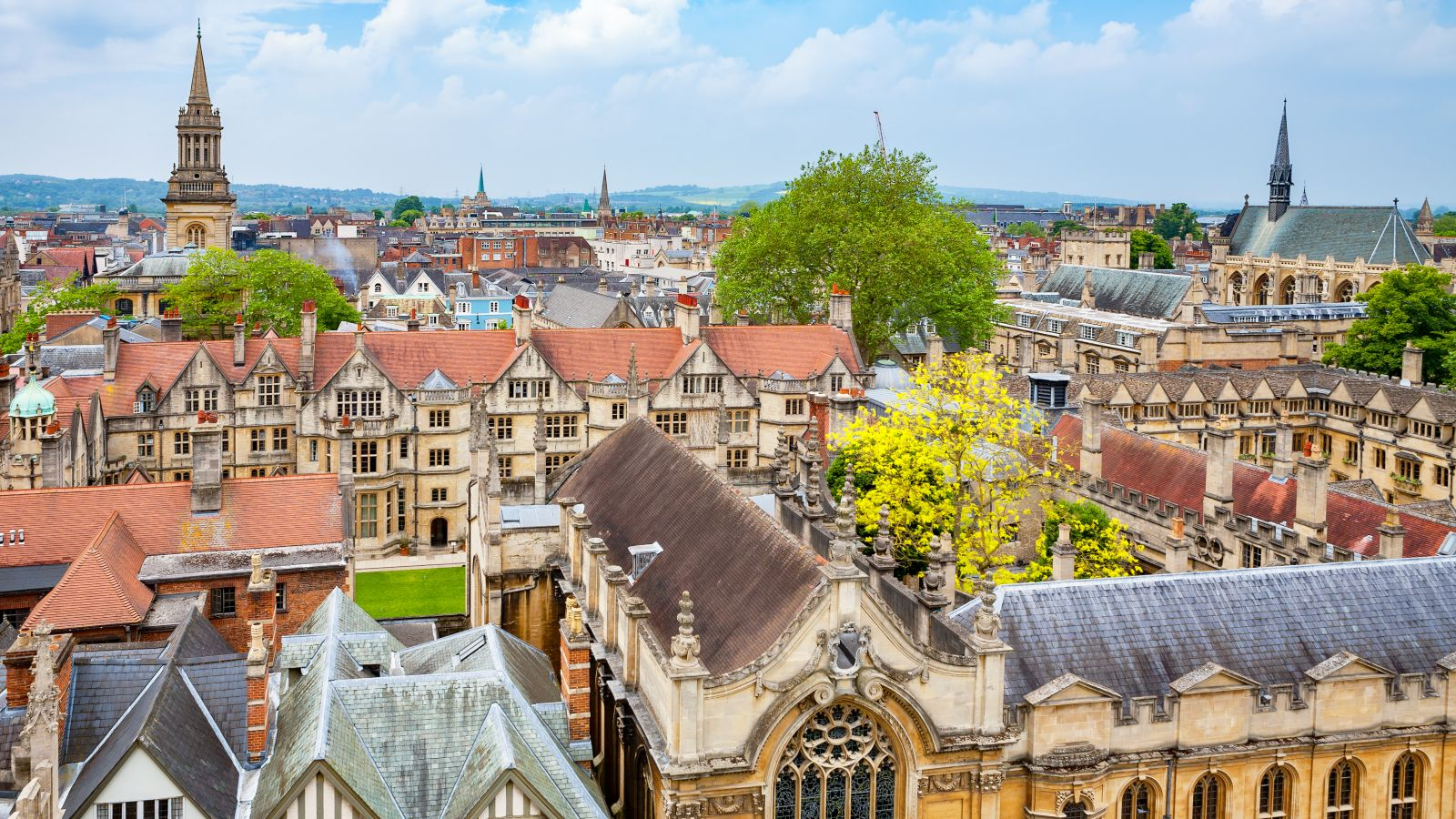 Cityscape of Oxford