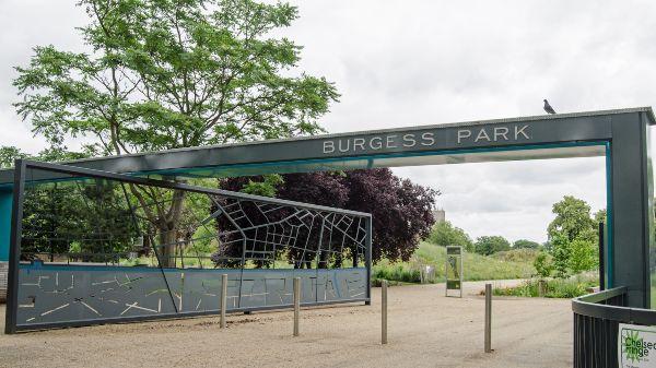 burgess park gates