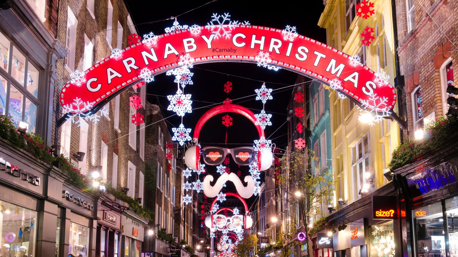 christmas shopping central london