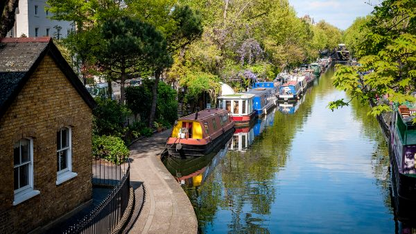 canals in little venice