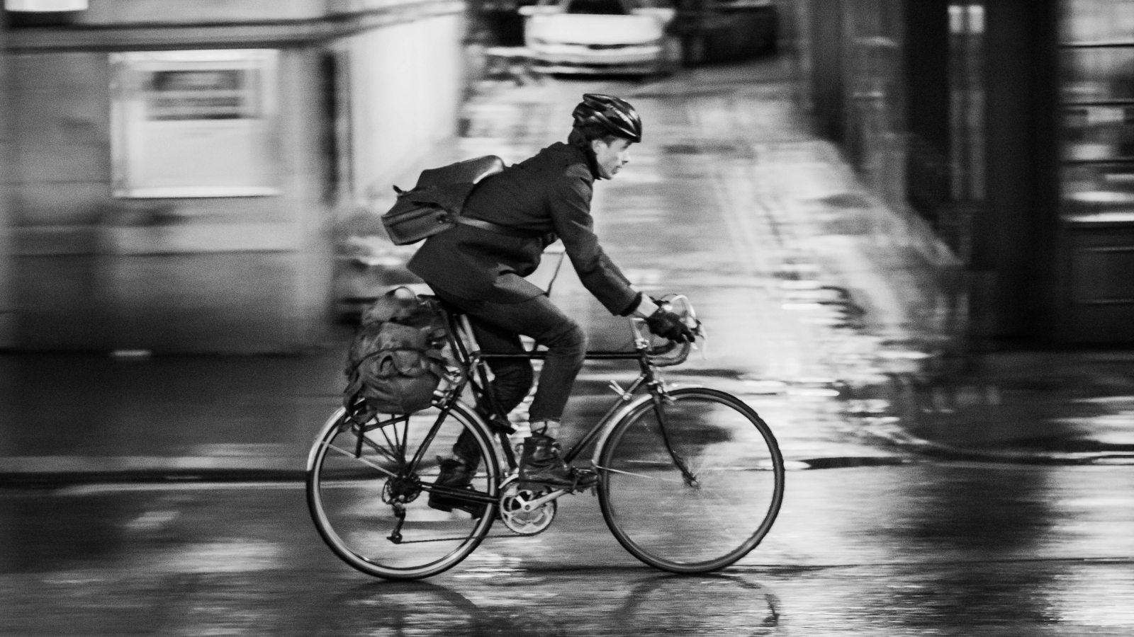 cycling through london