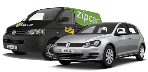 van and car zipvan