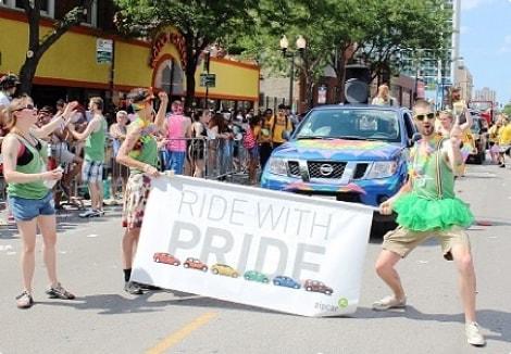 ride with pridegroup photo