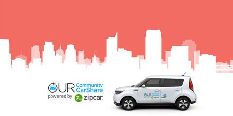 Sacramento AQMD Launches State's First Electric Vehicle Car Share Program for Disadvantaged Communities, Powered by Zipcar
